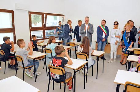 Primo giorno di scuola ad Arquata, Cerisciol:'Non vi lasceremo soli'