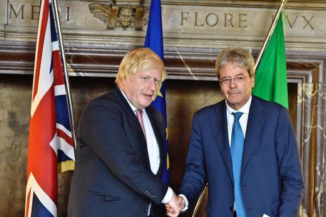 Firenze, il sindaco Nardella incontra Boris Johnson