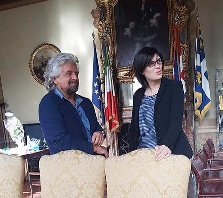 Grillo incontra Appendino: rendiamo possibile l'impossibile