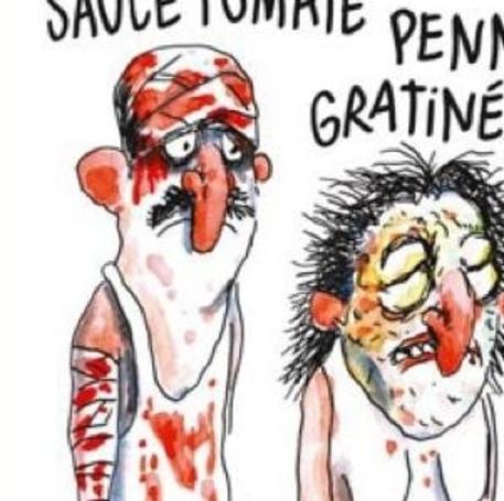 Charlie Hebdo, vignetta su terremoto in Italia © ANSA