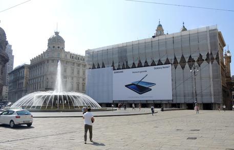 Toti: chiesta rimozione pubblicità su palazzo Regione Liguria