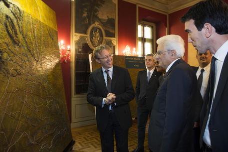 Mattarella a Vercelli celebra i 150 anni di Canale Cavour