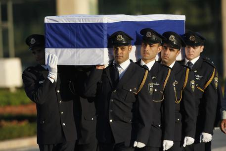 Shimon Peres memorial ceremony at the Knesset © EPA