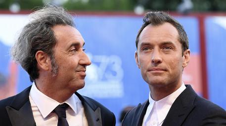 Paolo Sorrentino e Jude Law © ANSA
