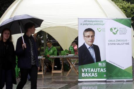 Lituania: elezioni, Verdi al primo posto
