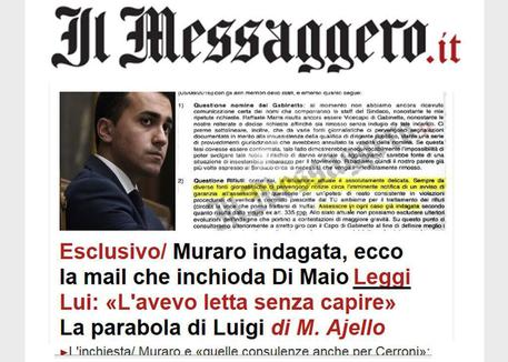 la home page del messaggero.it © ANSA