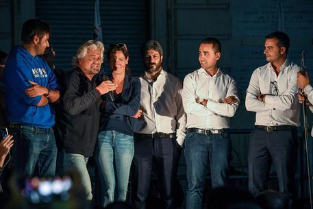 ++ Roma: Grillo, stiamo sfondando sistema, fanc..tutti ++ © ANSA