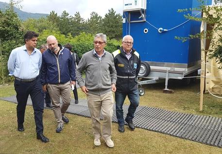 Sisma centro Italia, altri 16 volontari della Protezione civile modenese a Montegallo