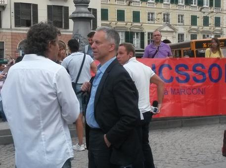Caso Ericsson, il sindaco Doria solidale con i lavoratori
