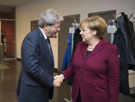 Italia-Germania, mercoledì incontro fra Merkel e Gentiloni