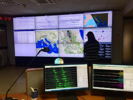Sciame sismico al largo di Modica$
