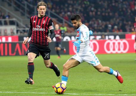 Milan-Napoli 1-2, azzurri al 2/o posto 56123014d11b034504ad45a44fbd6991
