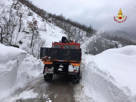 Ascoli Piceno, Pozza Acquasanta Evacuata: pericolo Slavina