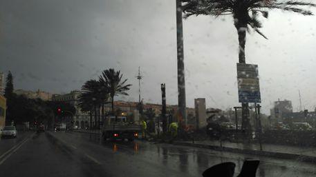 Allerta per temporali e vento nell'Isola