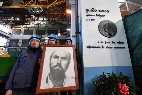 Guido Rossa, il ricordo all'Ilva: c'è il vice ministro Bellanova