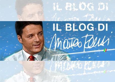 Renzi riparte dal blog: