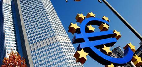 Una foto d'archivio della sede della Bce a Francoforte. © ANSA