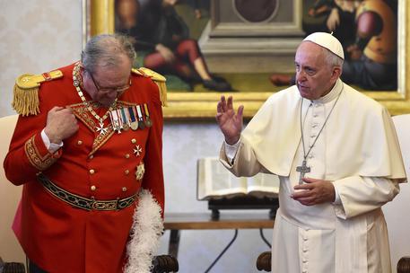 Ordine di Malta, si dimette Gran Maestro su richiesta di papa Francesco