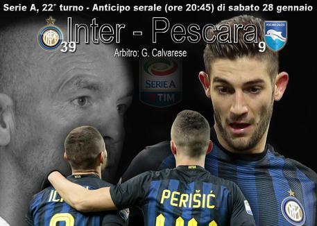 Serie A, Inter-Pescara 3-0: nerazzurri a forza sette!