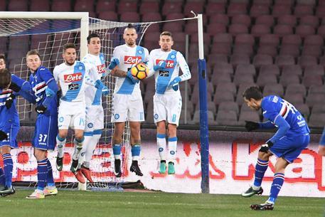 Napoli-Sampdoria, probabili formazioni: difesa inedita per Sarri