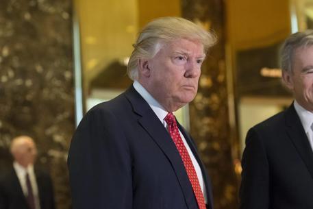 La prima conferenza stampa di Donald Trump