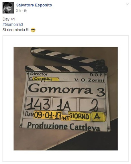 Gomorra, il post di