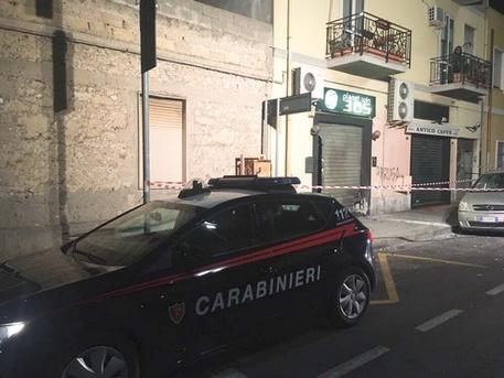 Cagliari-Pirri, grosso petardo sulla serranda di un centro scommesse