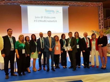 Porti: Sardegna nei vertici di MedCruise
