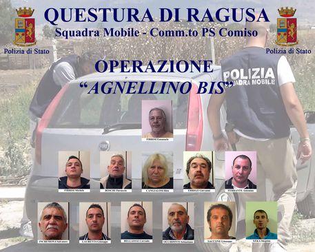 Ragusa, operazione antidroga: 13 arresti$