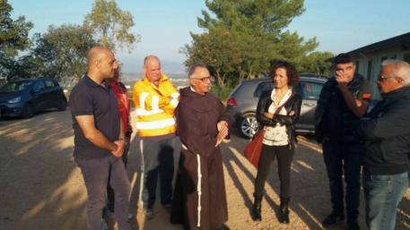 Miniera Olmedo: visita padre Morittu