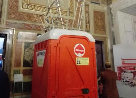 Bagni chimici al quirinale ma arte contemporanea - Mostra del bagno srl ...