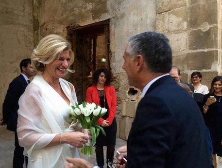 Micari si sposa, stop alla campagna elettorale per un giorno$