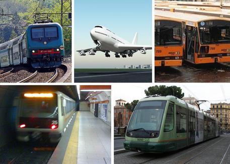 I settori dei trasporti interessati dallo sciopero © ANSA