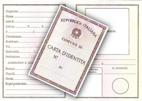 Carta identita' © ANSA