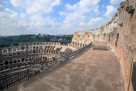 Un'immagine del Colosseo © ANSA
