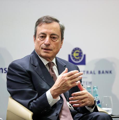 Mario Draghi in una foto d'archivio © EPA