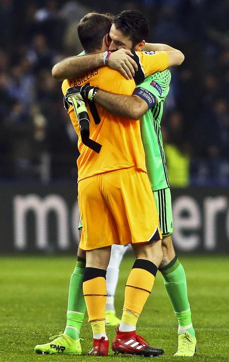 Casillas e Buffon © ANSA