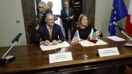 Memorandum d'intesa tra lo Stato di Washington (Usa) e la Regione