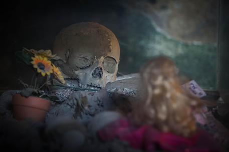 Il cimitero delle Fontanelle © ANSA