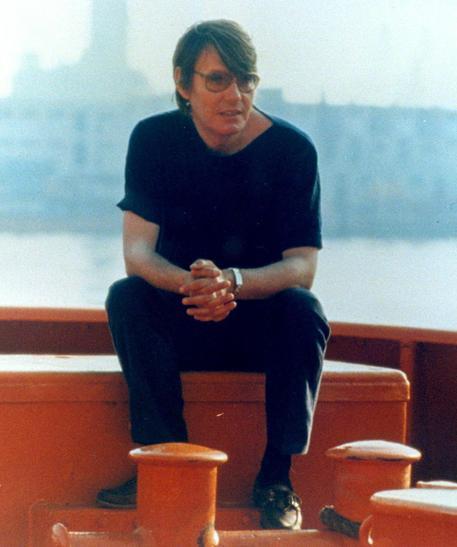 Fabriio De Andr?? in una foto d'archivio © ANSA