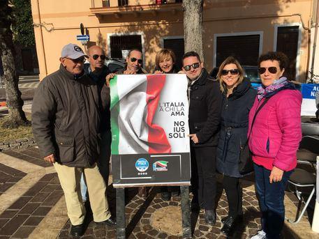 Lamezia, nel weekend gazebo di Noi con Salvini contro