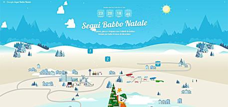 Percorso Babbo Natale.Il Viaggio Di Babbo Natale Si Traccia Con Un App Software E App