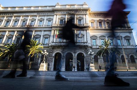 Una veduta della sede della Banca d'Italia a Palazzo Koch, Roma © ANSA