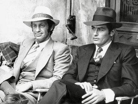 Respinto il concordato preventivo per lo storico marchio. Jean Paul  Belmondo e Alain Delon © ANSA 786089ff0d2c