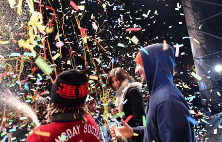 Torino dice addio al Capodanno in piazza San Carlo