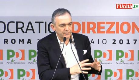 Assemblea minoranza Pd, Rossi: