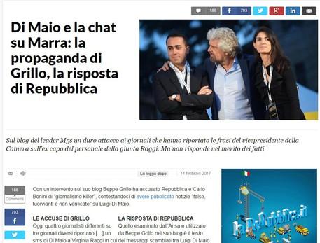 Repubblica Replica Sul Sito Nessuna Selezione Frasi Chat