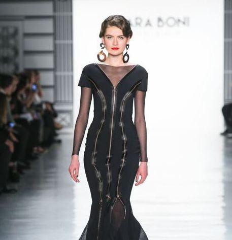 Chiara Boni sfila a New York - Moda - ANSA.it baf3915114f2