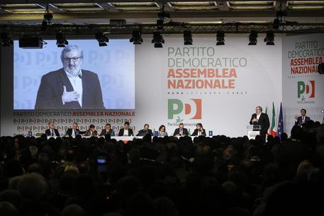 Michele Emiliano all'assemblea Pd di domenica © ANSA