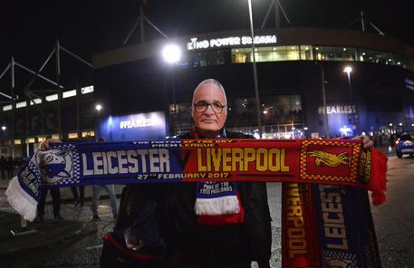 Leicester, tifosi con maschere Ranieri D117632331876ac083be9d3237642f3b